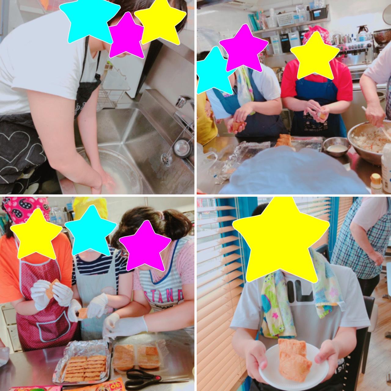 いなり寿司づくりをしました!!